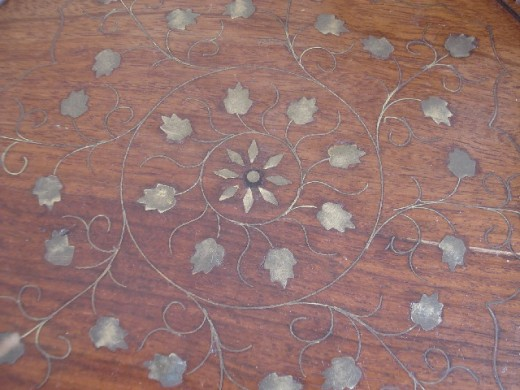 Inlaid Moroccan table