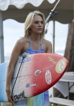 """Carrie Underwood in """"Soul Surfer."""""""