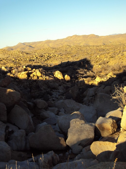 Another picture of the backside of the San Bernardino Mountains.