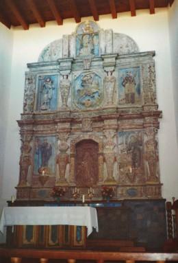 Altar inside Cristo Rey Church