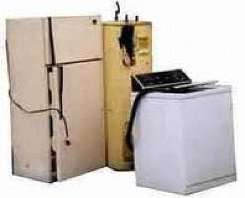Large appliances are not always able to be repaired without moving them.