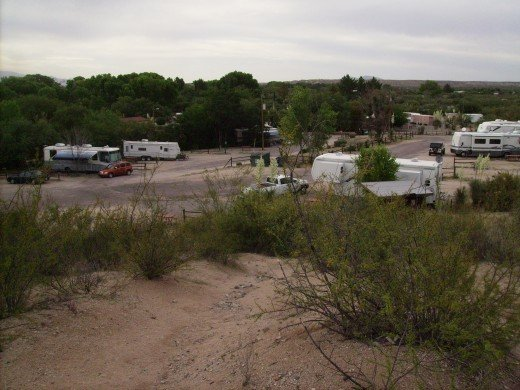 During the winter, there is rarely a RV spot to be found as snow birds from the north flock to Arizona to flee the cold.  But, come Summer its just a few tourists and a few locals like myself.
