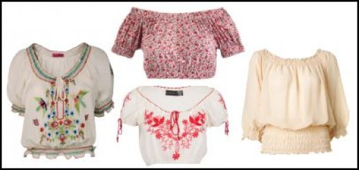 these peasent blouses are a must the summer season. They will not only look fashionable on you but also keep you cool all day long.