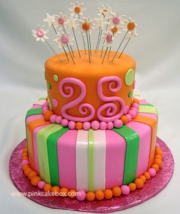 Live in New Jersey and like the cake? Visit PinkCakeBox.com for ordering information.