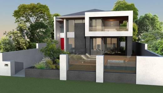 Narrow block house designs 10m home design and style for Home designs for narrow blocks