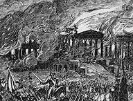British troops burn Washington