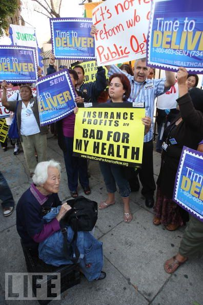 Health Care Reform Supporters ....