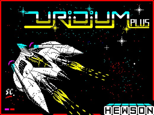The Loading Screen To Uridium Plus