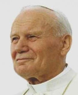 Pope John Paul II (Photo courtesy of http://en.wikipedia.org/)