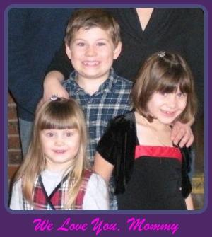 Nathaniel, Katelyn, Brittney Wishing Mom, Stephanie Happy Mother's Day