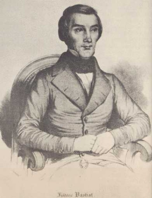 """Frederic Bastiat (1801-1850) was a French economist and member of the General Assembly. He wrote his work """"The Law"""" in 1849, one year before his death."""