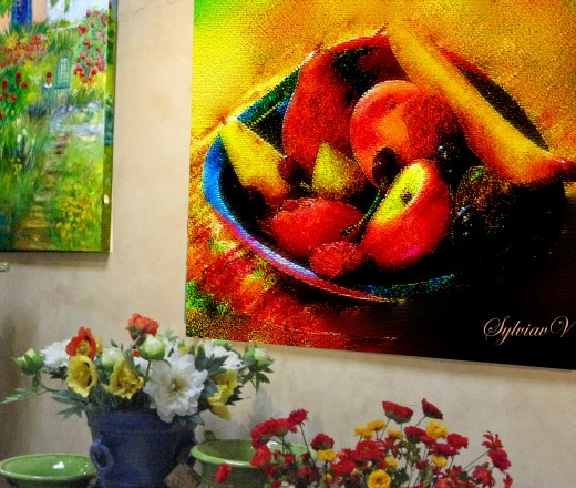 My Bowl of Fruits on Giclee