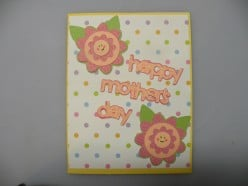 Easy to Make Homemade Happy Mother's Day Cricut Card