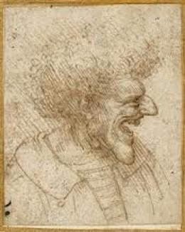 Leonardo Da Vinci Caricature