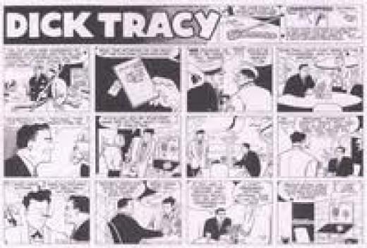 Dick Tracy Sunday comics