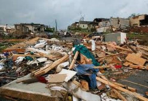 Pratt City after the massive tornado struck.
