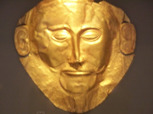 The so-called Mask of Agememnon