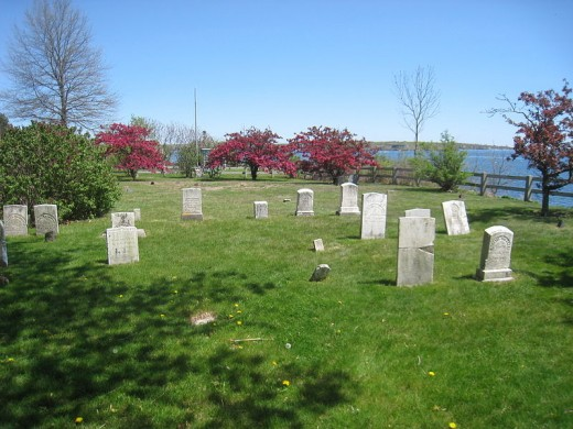 Old Settler's Cemetery on School Grounds