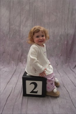 My girl is two and (almost) ready to go (potty)!