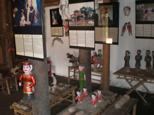 Water Puppetry Room, Hanoi's Ethnology Museum, Vietnam
