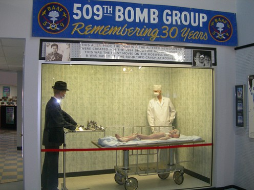 Roswell International UFO Museum Exhibit