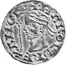 Few of Harold's coin issues survive, replaced by William's soon after his coronation at Christmastide, 1066