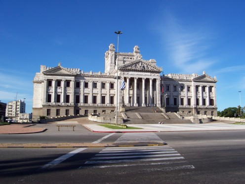 The Legislative Palace, Montevideo, Uruguay