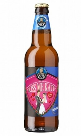 Kiss Me Kate commemorative beer