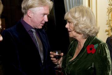 Phillip Treacy with Camilla