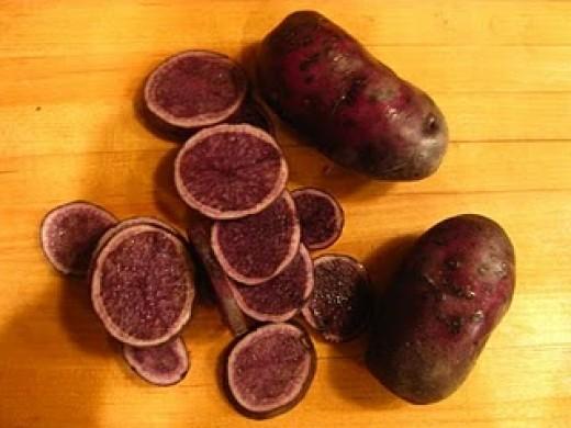 Purple potatoes source rhazvita