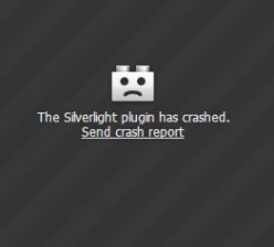 Silverlight plugin crashes when streaming Netflix movies online