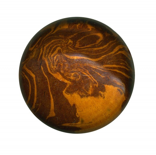 Wooden Door Knob Via SXC