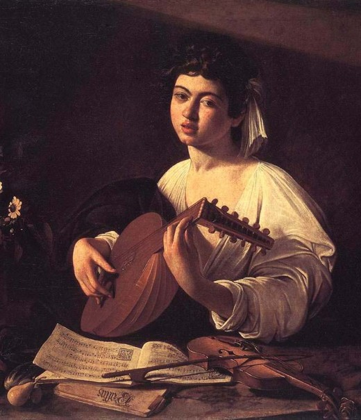 The Lute Player - Michelangelo Merisi da Caravaggio