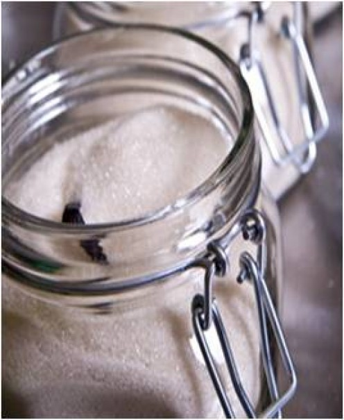 Rather than buy expensive packets of vanilla sugar, caster sugar can be flavoured beautifully simply by putting a vanilla pod in the jar.