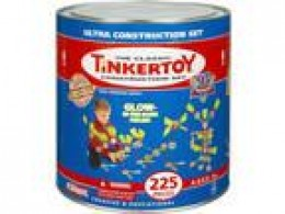 Tinkertoy Glow in the Dark Construction Set - 225 Pieces
