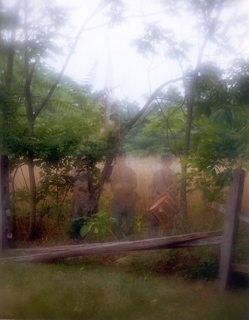 Gettysburg Ghost Art- look closely!
