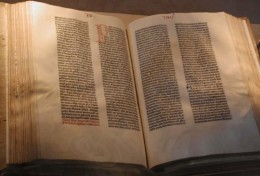 The Gutenberg Bible