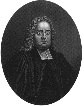 The presbyterian minister Matthew Henry (pictured above) is perhaps best known for his Commentary on the Whole Bible.