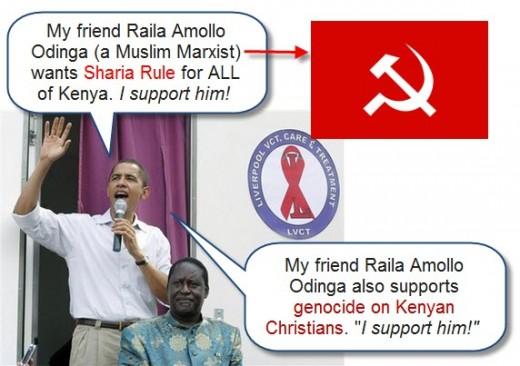 obama running to Kenya gif