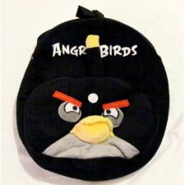 Angry Birds Backpack Black