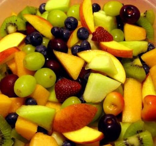 Mouth-Watering, Juicy, Fruit Salad