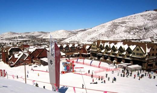 Park City ski resort.