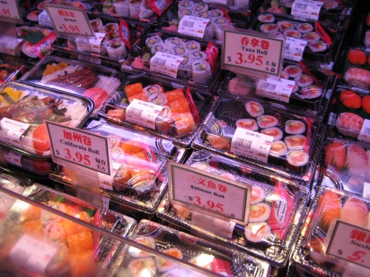 Yes, sushi is available too at affordable prices