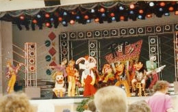 Tomorrow Land Theatre with Disney characters