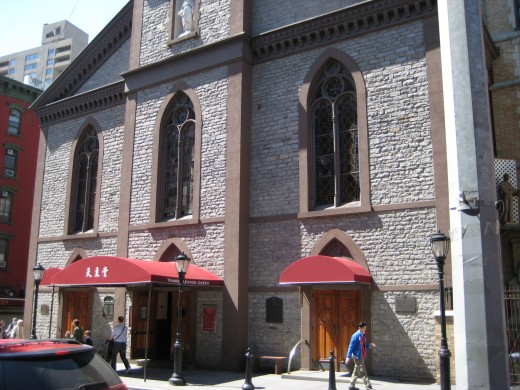 Transfiguration Church on Mott Street