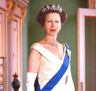 The Princess Royal in Official Garb
