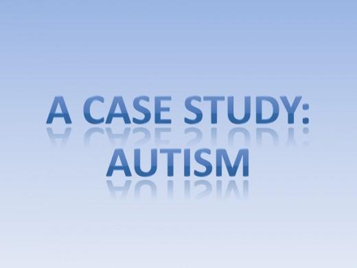Autism case study child