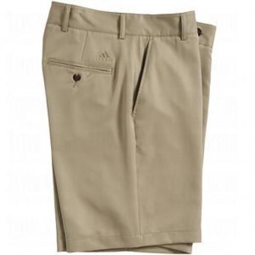 Adidas Mens Tech Twill Flat Front Shorts