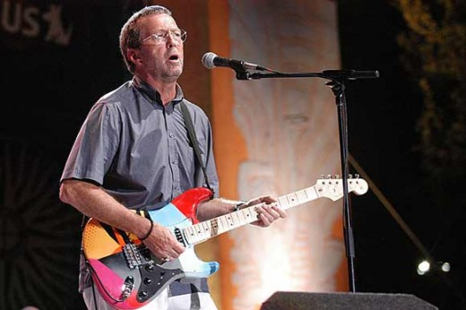 """That is the fakest piece of equipment I have ever seen Mr. Clapton."""