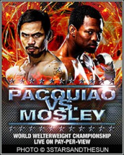 Pacquio or Mosley? Who's your pick?